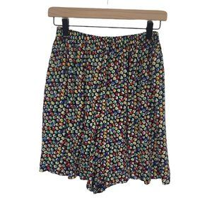 Vintage 80s 90s Floral High Waisted Mom Shorts